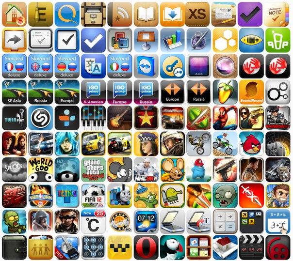 Приложения и игры к айфону